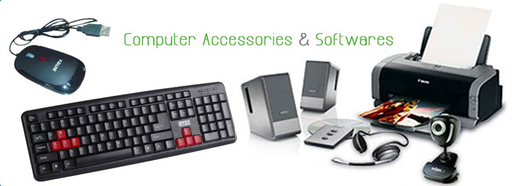 Computer Accessories & Softwares